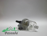Кран топлевний з стаканом FT65.50.033  FT250/254